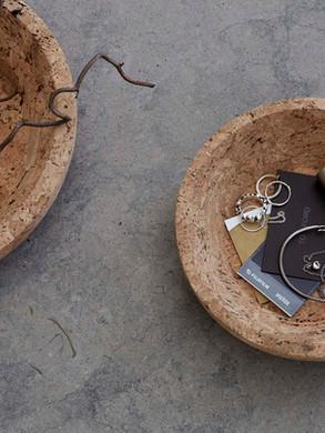 Formgatan_cork bowl natural S & M_pic 1.