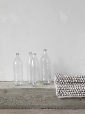 Loop Rug, Ivory + PET bottles