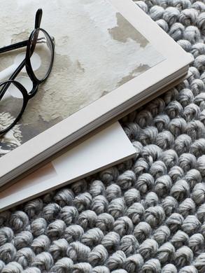 Loop Rug, Grey