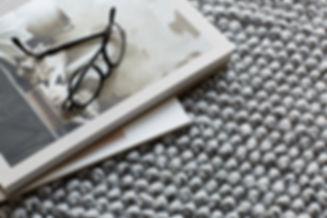 Sustainable Nordic design rug LOOP. Made from 100% recycled PET yarn. Scandinavian design.