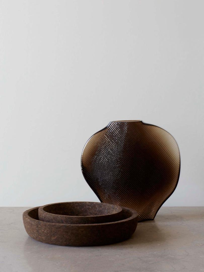 Formgatan_cork bowl smoked S & M_pic 1.j