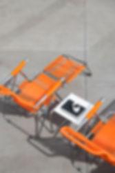 Fiam Spagetti Orange Club Table White 5