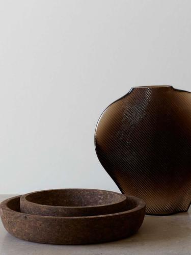 Formgatan_cork bowl smoked S & M_pic 2.j
