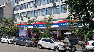 Fachada Casas Bahia