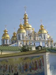kiev-cathedral-and-painted-wall
