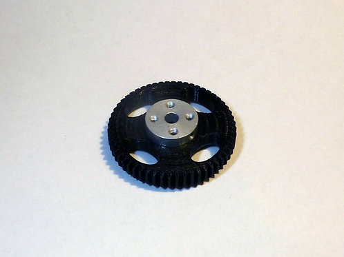 56 tooth Follow focus drive gear for 5mm shaft stepper motor.