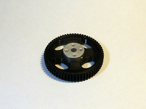 65 tooth Follow focus drive gear for 5mm shaft stepper motor.
