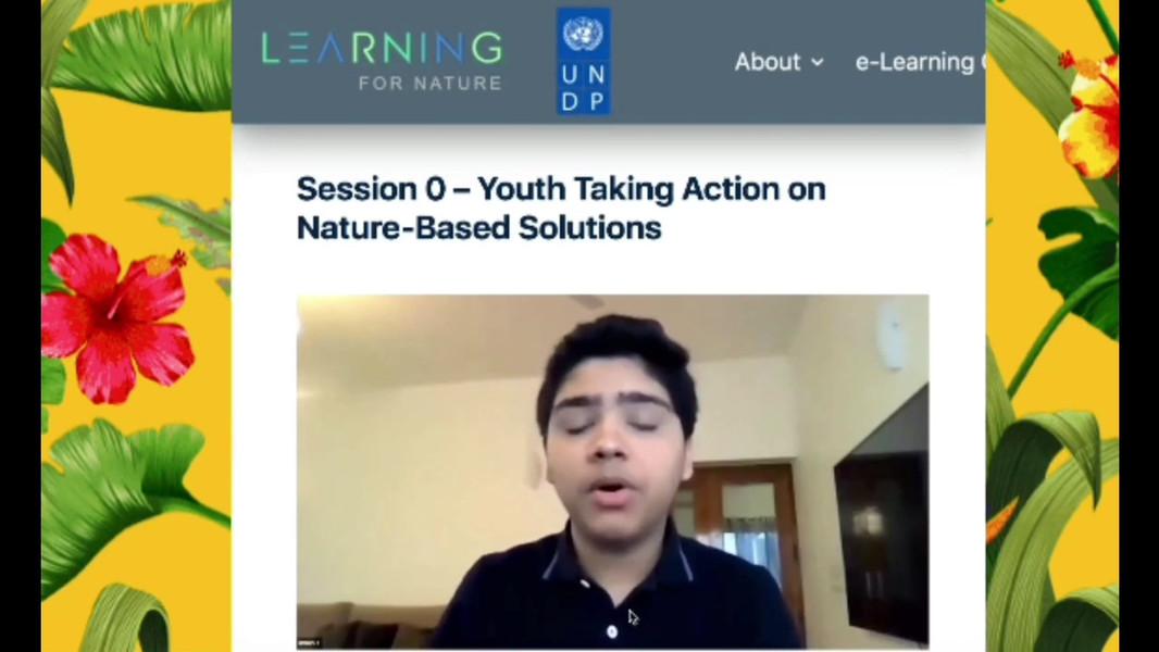 UNDP Nature For Life Hub, UNGA 2020