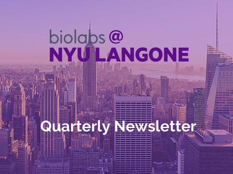 Quarterly Newsletter, August 2021