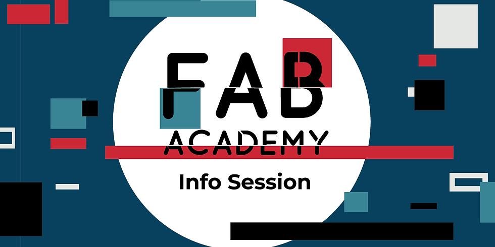 Fab Academy Info Morning