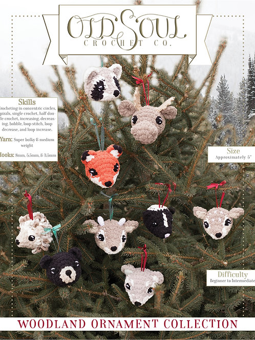 Woodland Ornament Collection
