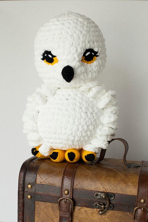 Amigurumi Snowy Owl