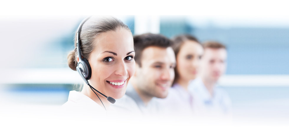 woman call center opt website image grad