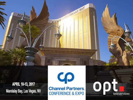 OPT is attending #CPEXPO in Las Vegas
