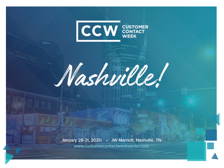 Meet us at CCW in Nashville!