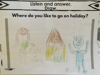 Where do you like to go on holiday?