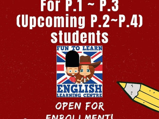 Online Courses for P1-P4