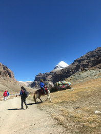 Kailash Yatra Parikarma using hourse