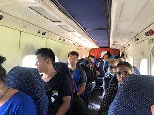 Flight to Simikot during kailash Yatra