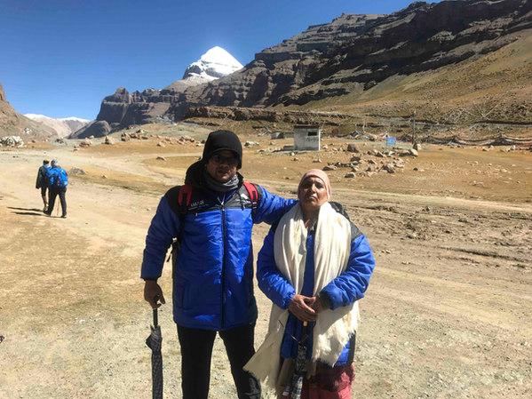 Our Kailash Pilgrims