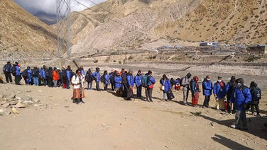 Kailash Yatra immigration at Hilsa
