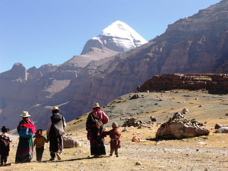 Why is Kailash Mansarovar a part of China?