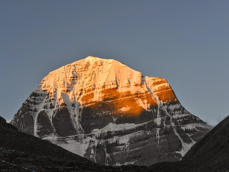 Who discovered Mount Kailash and stated that this particular mountain is Mount Kailash?