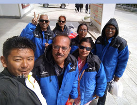 Mansarovar Yatra Pilgrim group
