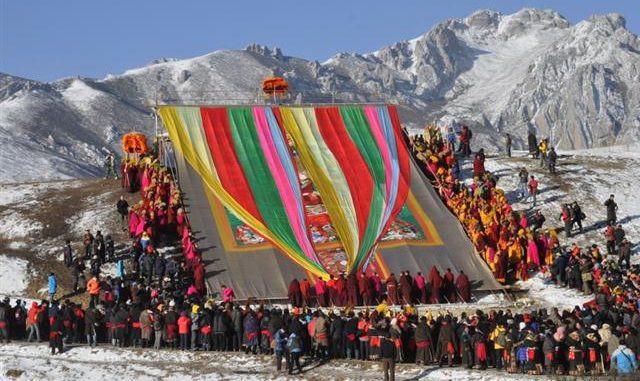 Saga Dawa Festival in Tibet