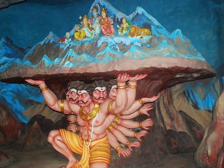 Ravana tried to uproot Mount Kailash once-Did mountain move?