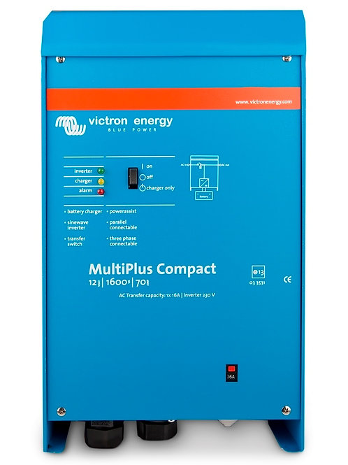 Victron Multi 24/1600/40 Inverter - Battery Charger and auto switch