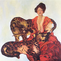 Lady with Leopards (dedication)