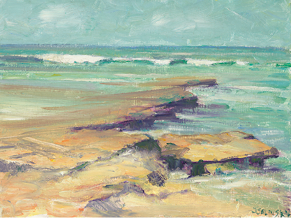 Sunny Day at Seaside SOLD