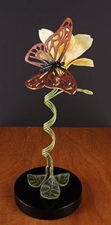 Mariposa & Flower