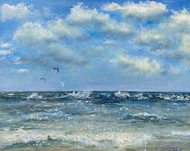 Kite Surfing Seaside