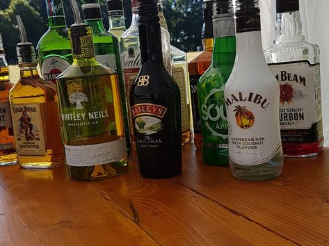 Huge variety of drinks