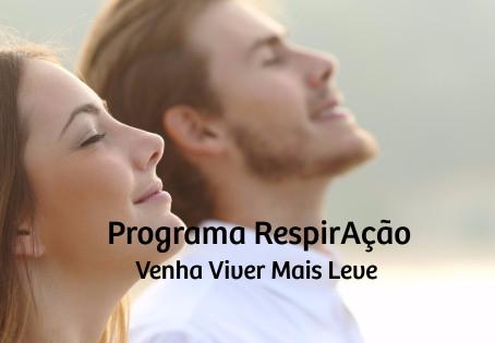 Conheça o Programa RespirAção