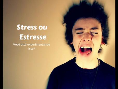 Stress ou Estresse. Você está experimentando isso?