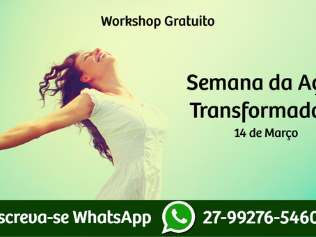 Workshop Gratuito - Semana da Ação Transformadora
