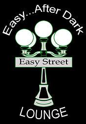 easy street lounge and bar logo food drinks restuarant