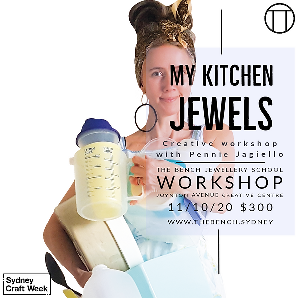 My Kitchen Jewels Workshop Sydney Craft