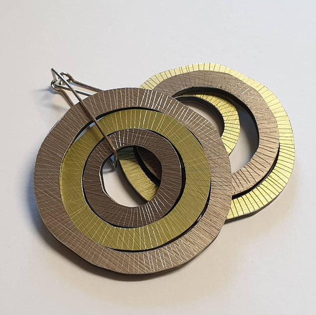 Organic circles, 3 set- Lines