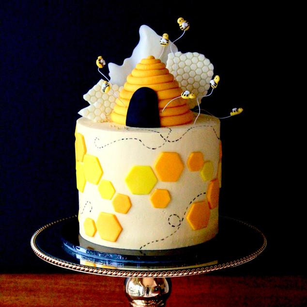 Custom Figurine Cake
