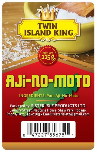 Twin Island King Digital Label