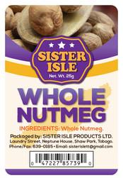 Sister Isle (Whole Nutmeg 25g) Digital Label