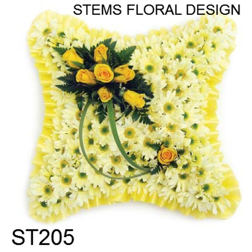 ST205 Cushion - shades of yellow