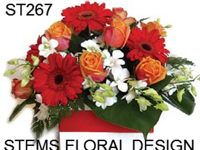 ST267 Box - Mixed Flowers