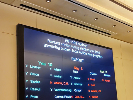 Great News, HB1103 and HB506 Headed to the House Floor!