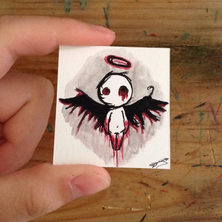 bloodied angel