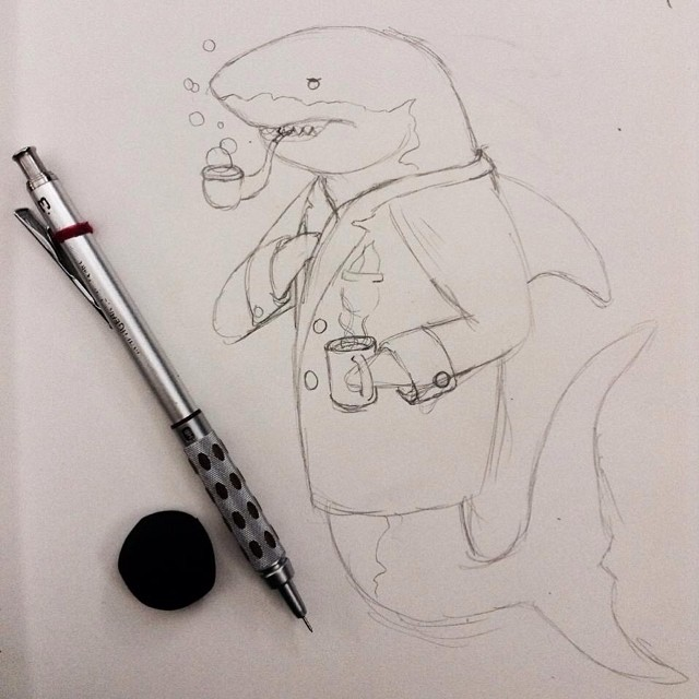 Instagram - Dapper shark